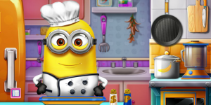 Spiel - Minions Real Cooking