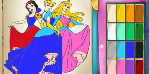 Spiel - Princess Coloring Book