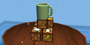 Spiel - Coffee Mug Block Removal