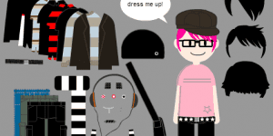 Spiel - Dress-up Emo Boy