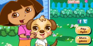 Spiel - Dora Cute Puppy Caring