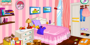 Spiel - Hello Kitty Room Cleanup