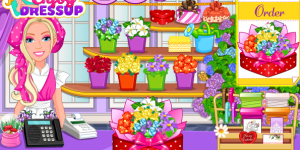 Spiel - Barbie's Flower Shop