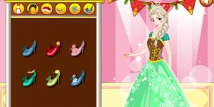 Spiel - Elsa's Christmas Visit