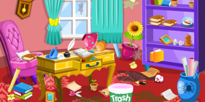 Spiel - Princess Room Cleanup 3