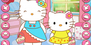 Spiel - Hello Kitty And Mom Matching Outfits