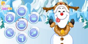 Spiel - Anna & Elsa Build Snowman