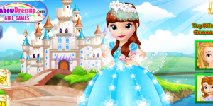 Spiel - Design Princess Sofia's Wedding Dress