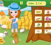 Spiel - Princess Sofia Farm Challenge