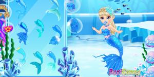 Spiel - Newborn Ice Mermaid Princess
