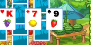 Spiel - Tri-Fruit Solitaire