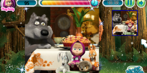Spiel - Masha And The Bear Puzzle