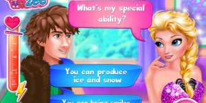 Spiel - Elsa's True Love Jack vs Hiccup