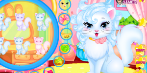 Spiel - Baby Kitty Hair Salon