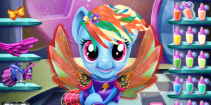 Spiel - Rainbow Dash Real Haircuts