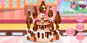 Spiel - Princess Castle Cake 4