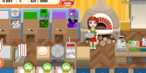 Spiel - Girl on Skates: Pizza Mania