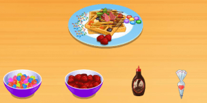 Spiel - French Waffles: Sara's Cooking Class