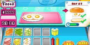 Spiel - Go Fast Cooking Sandwiches