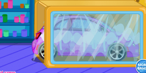 Spiel - Clean up Car Wash 3