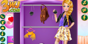 Spiel - Barbie's Closet Makeover