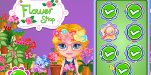 Spiel - Baby Barbie Flower Shop Slacking