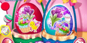 Spiel - Elsa & Anna Easter Fun