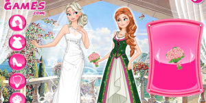 Spiel - Frozen Sisters Double Wedding