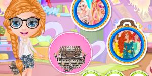 Spiel - Baby Barbie Disney Bag