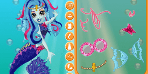 Spiel - Monster High Glowsome Ghoulfish Lagoona Blue