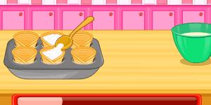 Spiel - Ice Cream Cone Cupcakes Saga 2