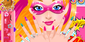 Spiel - Super Barbie Super Nails