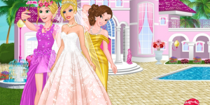 Spiel - Barbie's Wedding Selfie with Princesses