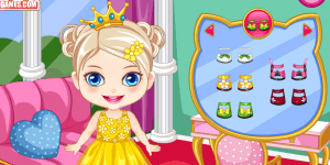 Spiel - Baby Princess Birthday Makeover