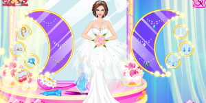 Spiel - Gorgeous Fashion Bride Dress Up