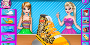 Spiel - Elsa And Anna Shoe Decor