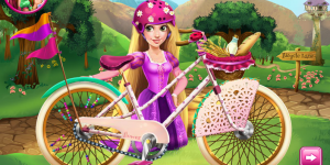 Spiel - Girls Fix It Rapunzel's Bicycle