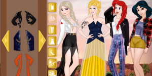 Spiel - Disney Princess Coachella