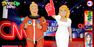 Spiel - Donald Trump vs Hillary Clinton