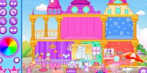 Spiel - Princess Doll House 2