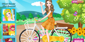 Spiel - Fashionable Bike Rider