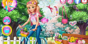 Spiel - Princesses Bike Trip