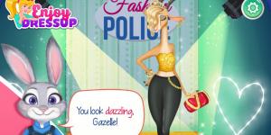 Spiel - Zootopia Fashion Police