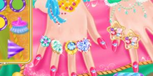 Spiel - Ice Princess Nail Design