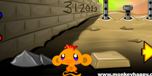 Spiel - Monkey Go Happy Stage 8