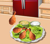 Spiel - Saras Kochunterricht: Backhähnchen