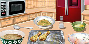 Saras Kochunterricht: Backhähnchen