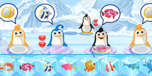 Spiel - Penguin Food Club