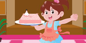Spiel - Barbie Birthday Cake
