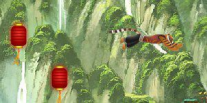Spiel - Kung Fu Panda: Tigress Jump